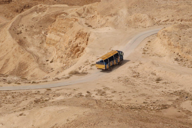טיול ארמונות החשמונאים ביריחו